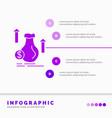 money bag dollar growth stock infographics vector image vector image