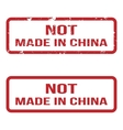 Not Made In China Grunge Rubber Stamp Set For Any