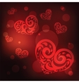 Ornamental Heart Love vector image vector image