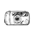 point-and-shoot camera vector image vector image