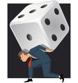 Problem gambling vector image vector image