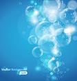 underwater bubble vector image vector image