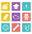 Icons for Web Design set 17 vector image