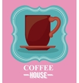 coffee house design vector image