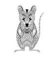 entangle possum totem for adult anti stress vector image vector image