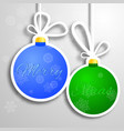 merry xmas background vector image