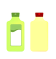 Packaging bottles vector image vector image