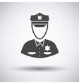 Policeman icon vector image