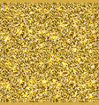 seamles gold glitter texture vector image vector image