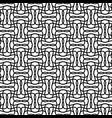 seamlessly repeatable geometric monochrome vector image