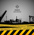 Under construction industrial template design