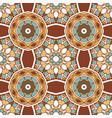 vintage seamless ceramic tile design pattern vector image vector image