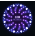 Abstract glowing background with light spots vector image vector image