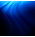 Blue smooth twist light lines background EPS 8 vector image vector image
