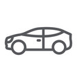 car line icon auto and transport automobile sign vector image