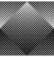 monochrome seamless diagonal square pattern vector image vector image