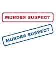 Murder Suspect Rubber Stamps