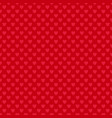 Red seamless heart pattern background - love