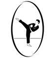 Taekwondo vector image vector image