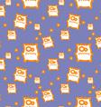 Cartoon monster texture vector image