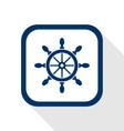 rudder flat icon