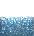 Christmas dark blue abstract background vector image vector image
