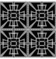 geometric greek key meanders seamless pattern vector image
