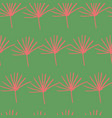 green red orange yellow jungle fern leave seamless vector image vector image