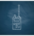 police radio icon vector image