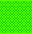 repeating green heart background pattern vector image vector image