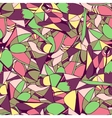 Seamless geometric pattern bright colors vector image
