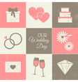 Wedding Day Collection vector image