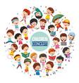 children concept design vector image