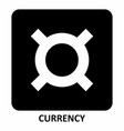 currency symbol vector image