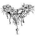 Grunge grafitti vector image