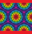 Kaleidoscopic pattern vector image