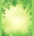 leaves theme background 5 vector image