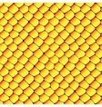 Orange and yellow seamless honeycombs texture vector image
