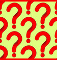 seamless pattern red question mark perhaps on a vector image