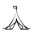 Shelter tent icon