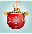 Vintage Christmas 3d decoration toys vector image vector image