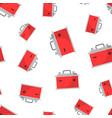 car battery accumulator seamless pattern vector image vector image