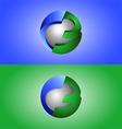 creative design 3d vector image vector image