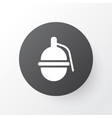 grenade icon symbol premium quality isolated vector image vector image