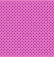 seamless pink heart pattern background - love vector image vector image