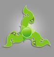 fidget spinner thai pattern vector image