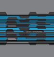 abstract blue gray polygon modern vector image vector image