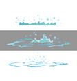 dripping water special effect fx animation frames vector image vector image