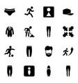 men icons vector image vector image