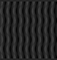 vertical wavy stripped seamless pattern vector image vector image
